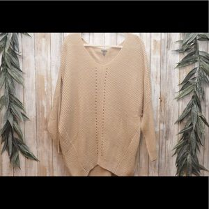 Charlotte Russe Knitted Long Sleeve